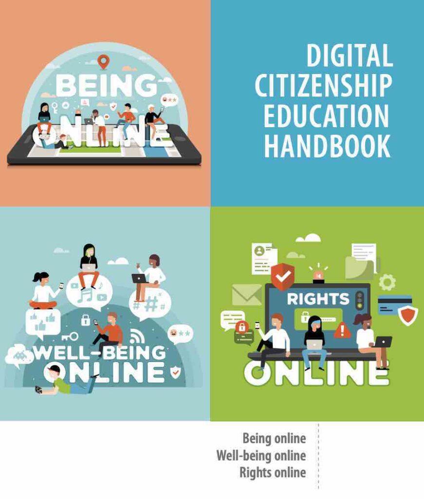 Digital Citizenship Education Handbook cover